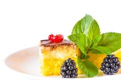 Κέικ μπισκότων Στοκ Εικόνες