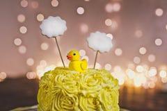 Κέικ μωρών για τα πρώτα γενέθλια 5346 Στοκ Εικόνες