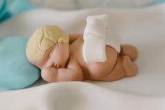 Κέικ ντους μωρών Στοκ Εικόνες