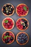 Κέικ νωπών καρπών Στοκ Εικόνες
