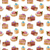 κέικ νόστιμα Στοκ φωτογραφία με δικαίωμα ελεύθερης χρήσης