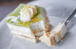 κέικ νόστιμο Στοκ φωτογραφία με δικαίωμα ελεύθερης χρήσης