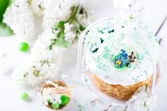 κέικ Πάσχα παραδοσιακό Στοκ εικόνες με δικαίωμα ελεύθερης χρήσης
