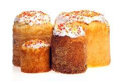 κέικ Πάσχα που απομονώνεται πέρα από το λευκό Στοκ Φωτογραφίες