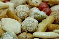 Κέικ ρυζιού, ιαπωνική ρύζι-κροτίδα Στοκ φωτογραφίες με δικαίωμα ελεύθερης χρήσης