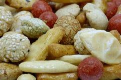 Κέικ ρυζιού, ιαπωνική ρύζι-κροτίδα Στοκ Εικόνα