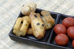 Κέικ ρυζιού, ιαπωνική ρύζι-κροτίδα Στοκ Φωτογραφίες