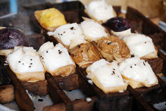 Κέικ ρυζιού Στοκ Εικόνα