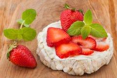 Κέικ ρυζιού Στοκ φωτογραφία με δικαίωμα ελεύθερης χρήσης
