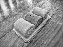 Κέικ ρόλων του τόνου σεπιών Στοκ εικόνες με δικαίωμα ελεύθερης χρήσης