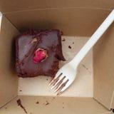 Κέικ σοκολάτας Vegan στοκ φωτογραφία