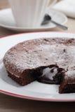 Κέικ σοκολάτας στοκ εικόνα