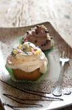 κέικ σπιτικό στοκ φωτογραφίες