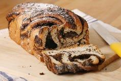 Κέικ σπόρων παπαρουνών Στοκ Εικόνες