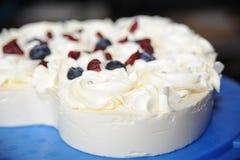 Κέικ σταφίδων τυριών Στοκ εικόνα με δικαίωμα ελεύθερης χρήσης