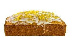 Κέικ σφουγγαριών λεμονιών Στοκ φωτογραφία με δικαίωμα ελεύθερης χρήσης