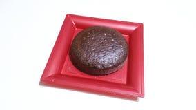 Κέικ σφουγγαριών κακάου Στοκ Εικόνες