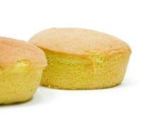 Κέικ σφουγγαριών Στοκ Εικόνες