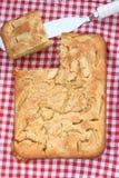 Κέικ σφουγγαριών Grandma Στοκ φωτογραφίες με δικαίωμα ελεύθερης χρήσης