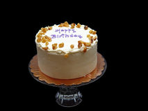 κέικ τέσσερα γενεθλίων Στοκ Εικόνα