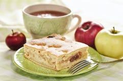 Κέικ της Apple Στοκ Εικόνα