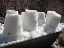 Κέικ του χιονιού Στοκ εικόνες με δικαίωμα ελεύθερης χρήσης