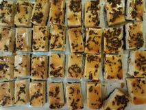 Κέικ τυριών χάους καφέ Στοκ εικόνα με δικαίωμα ελεύθερης χρήσης