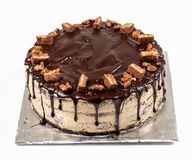 Κέικ φοντάν σοκολάτας, καραμέλα που ολοκληρώνεται Στοκ φωτογραφία με δικαίωμα ελεύθερης χρήσης