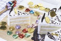 κέικ φρέσκο Στοκ Φωτογραφίες