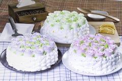 κέικ φρέσκο Στοκ Φωτογραφία