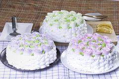 κέικ φρέσκο Στοκ εικόνες με δικαίωμα ελεύθερης χρήσης