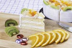 κέικ φρέσκο Στοκ φωτογραφία με δικαίωμα ελεύθερης χρήσης