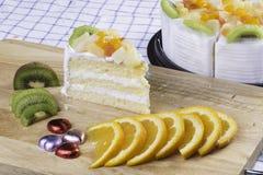 κέικ φρέσκο Στοκ φωτογραφίες με δικαίωμα ελεύθερης χρήσης