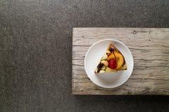 Κέικ φρούτων Στοκ εικόνα με δικαίωμα ελεύθερης χρήσης