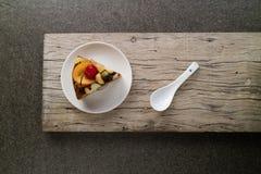 Κέικ φρούτων Στοκ εικόνες με δικαίωμα ελεύθερης χρήσης