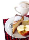 Κέικ φλιτζανιών του καφέ και applesauce Στοκ Εικόνα
