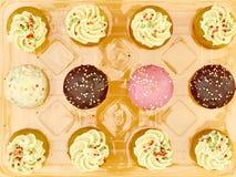 Κέικ φλυτζανιών μωρών Στοκ Εικόνα