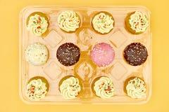 Κέικ φλυτζανιών μωρών Στοκ Εικόνες