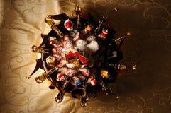 Κέικ Χαρούμενα Χριστούγεννας Στοκ Εικόνες