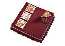 Κέικ Χριστουγέννων Στοκ εικόνα με δικαίωμα ελεύθερης χρήσης