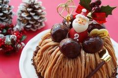 Κέικ Χριστουγέννων στοκ φωτογραφία με δικαίωμα ελεύθερης χρήσης