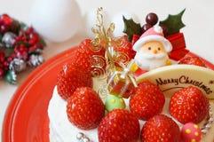 Κέικ Χριστουγέννων στοκ φωτογραφία