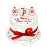 Κέικ Χριστουγέννων Στοκ φωτογραφίες με δικαίωμα ελεύθερης χρήσης