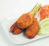 Κέικ ψαριών, τρόφιμα της Ασίας, Μπαλί, Μαλαισία Στοκ φωτογραφίες με δικαίωμα ελεύθερης χρήσης
