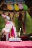 Κέικ Anazing για τα γενέθλια μωρών ` s Στοκ εικόνες με δικαίωμα ελεύθερης χρήσης