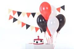 Κέικ Anazing για τα γενέθλια μωρών ` s Στοκ Φωτογραφίες