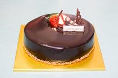 Κέικ Choco Στοκ Εικόνα