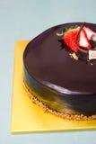 Κέικ Choco Στοκ εικόνα με δικαίωμα ελεύθερης χρήσης