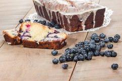 Κέικ cofffee λεμονιών βακκινίων Στοκ φωτογραφίες με δικαίωμα ελεύθερης χρήσης