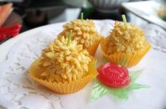 κέικ durian Στοκ Εικόνες
